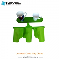 Universal Mug Clamp for Conic Mugs
