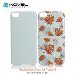 For iPod Touch 6 Sublimation 3D Blank PC Phone Case