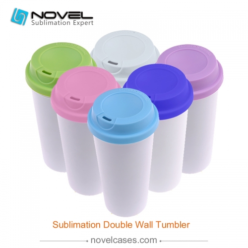 Hot sale!!!sublimation custom design Double Wall Tumbler