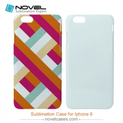 For iPhone 6 Blank Sublimation 3D Plastic Phone Case