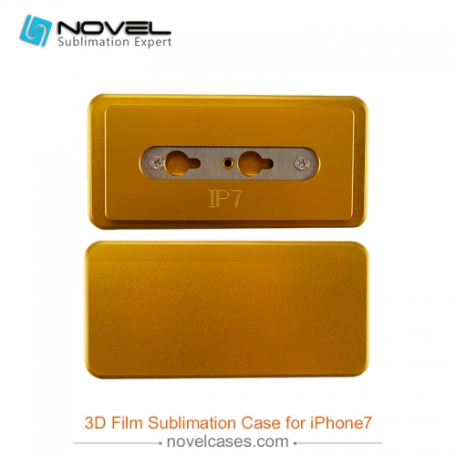 High quality 3D Film prining mold for sublimation iphone 7 case