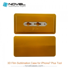 3D Film prining mold for sublimation iphone 7 plus case