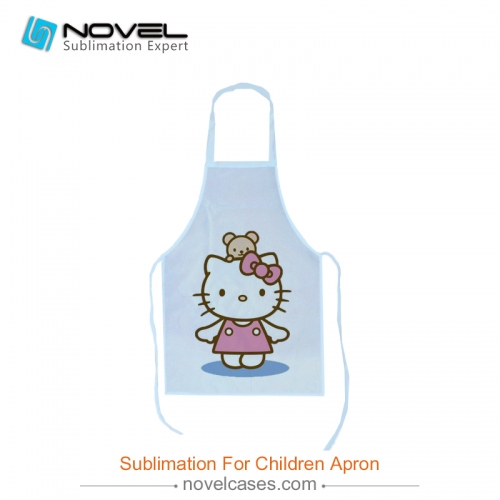DIY Sublimation Blank 100% Polyester Apron For Children