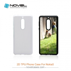 2D TPU Cell Phone Case For Nokia 5,Sublimation Phone Housing