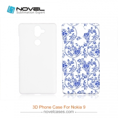 For Nokia 9 New Sublimation 3D Printed Cell Phone Back Cover