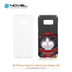 For Galaxy S8 New Style Sublimation 3D Smartphone Cover With Full Edge