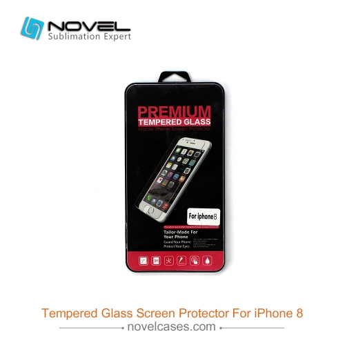 New Product For iPhone 7/8 Plus Cell Phone Tempered Glass Screen Protector
