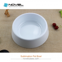 New Sublimation Printable Pet Bowl Without Stainless Steel