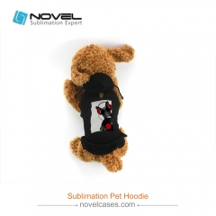 New Sublimation Printable Pet Hoodie With Rectangle/Pocket Shape