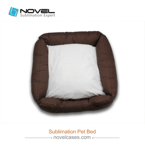 New Custom Sublimation Canvas Pet Bed
