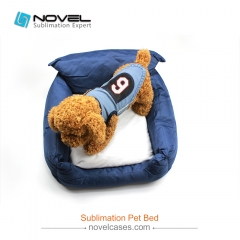 New Custom Sublimation Blank Oxford Cloth Pet Bed