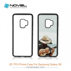 New For Galaxy S9 Sublimation 2D TPU Rubber Phone Back Cover