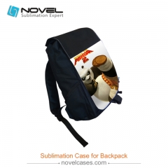 Sublimation Blank Youth Backpack--Black