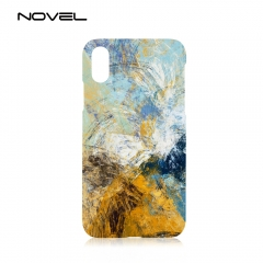 "New!!!For iPhone XR 6.1"" Sublimation Plastic 3D Blank Phone Back Case Cover"