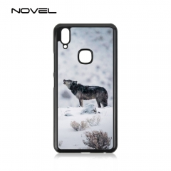 For Vivo Y83 Pro Sublimation Blank 2D Plastic Phone Case With Metal Plate