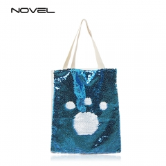 Sublimation Magic Sequin Shoulder Bag Fashion Glitter Handbag
