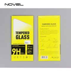 9H Tempered Glass Screen Protector Film For iPhone Series-Crystal Clear
