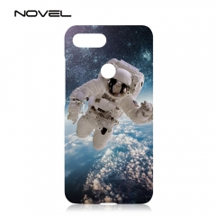 For Xiaomi 8 Lite Blank Sublimation 3D Hard Plastic Phone Back Case Cover