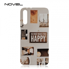For Huawei Honor Magic 2 Black Sublimation 3D Plastic Phone Shell Back Case