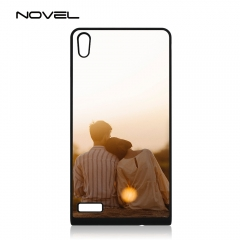 For Huawei P6 Custom Blank Sublimation 2D TPU Rubber Phone Case