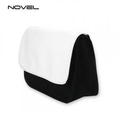 DYE Sublimation Blank Canvas Cosmetic Bag Pencil Pouch
