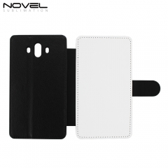 Sublimation Blank PU Leather Case Flip Phone Wallet For Huawei Mate 10