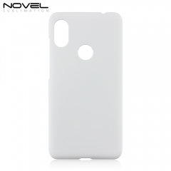Sublimation Blank 3D Plastic Phone Back Shell For Redmi Note 6 Pro