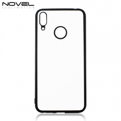 Blank Sublimation 2D TPU Rubber Smartphone Case For Huawei Y7/Y7 Prime 2019
