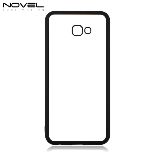 DIY Custom Sublimation Blank 2D TPU Rubber Phone Back Shell For Galaxy J4 Plus