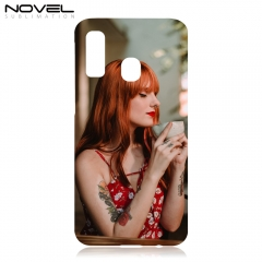 Custom Case For Galaxy A40 Sublimation Blank 3D Plastic Phone Cover