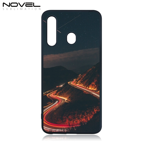Novelcases For Galaxy A60/M40 Custom Sublimation Blank 2D Rubber TPU Cell Phone Case
