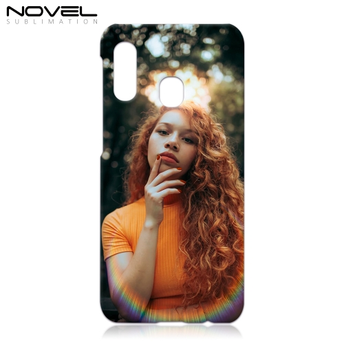 Novelcases For Galaxy A20E Blank Sublimation 3D Hard Cell Phone Case