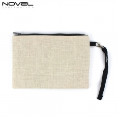 Sublimation Linen Cosmetic Bag