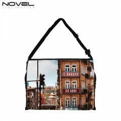 Custom Sublimation Blank Messenger Shoulder Bag-Big Size