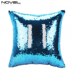New!!!Custom Sublimation Blank Magic Pillow Cover Sequin Pillow Case,Two-Sided Printing