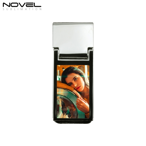 Rectangle Blank Sublimation Money Clip