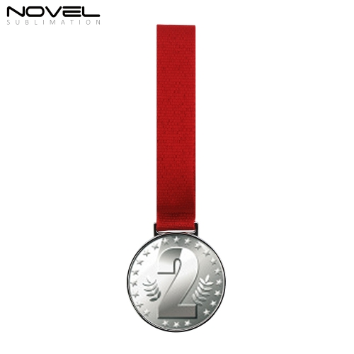 Sublimation Blank Silver Medal