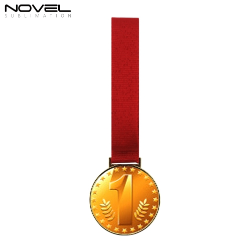 Sublimation Blank Gold Medal