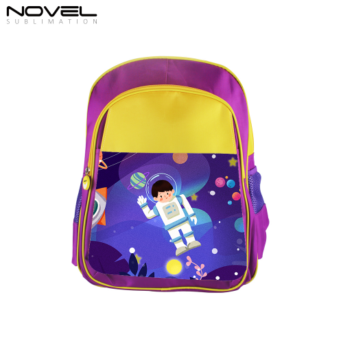 Custom Blank Sublimation Backpack School Bag-Purple