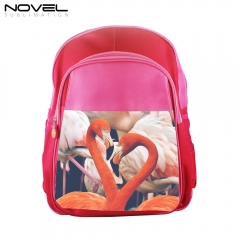 Sublimation Blank Kids Backpack School Bag-Pink