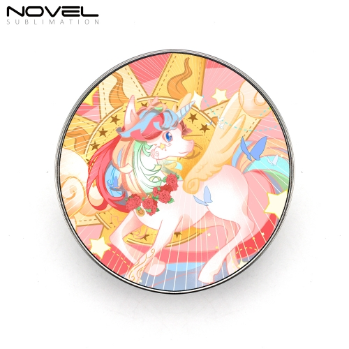 Sublimation Metal Tin Box Candy Case-Round
