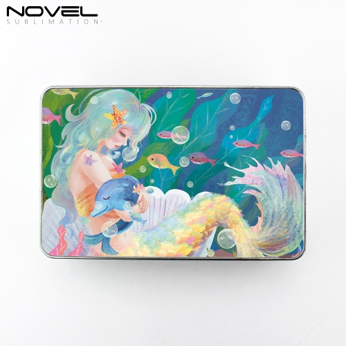 Sublimation Storage Box Case Tin Candy Box-Rectangle