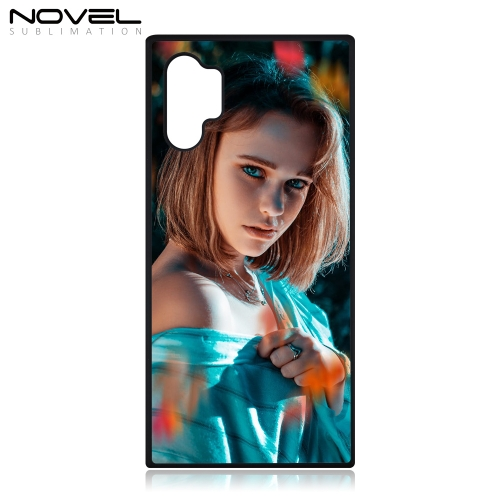 New Arrival Sublimation Blank Rubber 2D Phone  Case For Galaxy Note 10 Pro