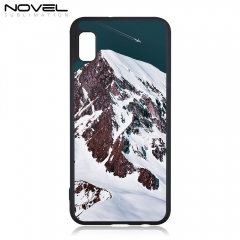 Novelcases For Galaxy A10E Rubber 2D Sublimation Blank Phone Case