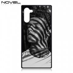 DIY Sublimation Blank 2D Plastic Phone Case For Galaxy Note 10
