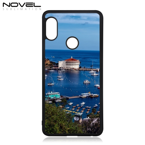 Blank Rubber Case Sublimation 2D TPU Smartphone Cover For Xiaomi Redmi Note 5 Pro