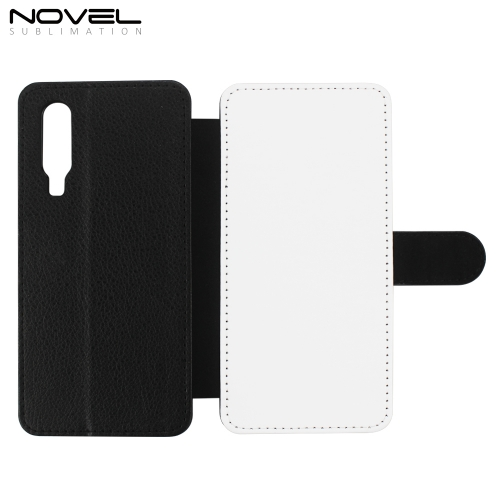 Blank Sublimation PU Flip Phone Wallet For Huawei P30