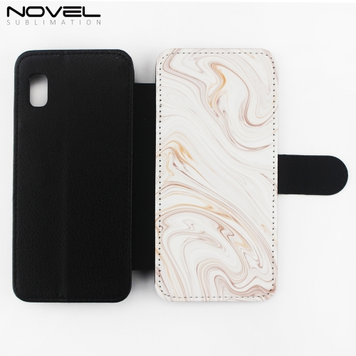 Premium Sublimation Blank Leather Flip Phone Wallet For Galaxy A10E