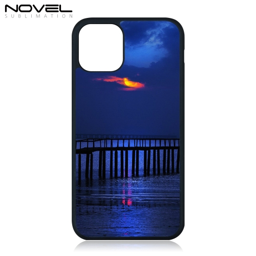 New!!! Popular Sublimation Blank 2D TPU Rubber Phone Case For iPhone 11 Pro 5.8""