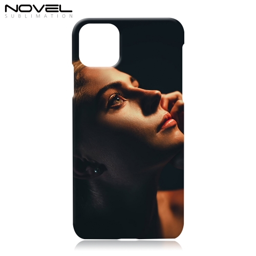 "Novelcases For iPhone 11 Pro Max 6.5"" Blank 3D Sublimation Case Plastic Back Cover"